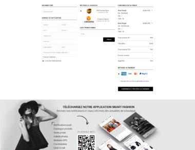 Maquette site web Bijouterie