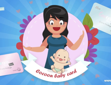 Motion Cocoon baby card